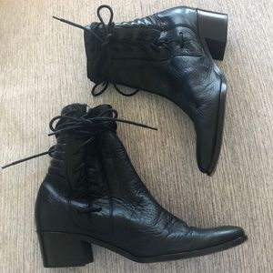 Modern Vice lace up Marley boots in size 36